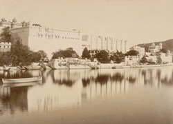 Palace from the lake, Udaipur 10128
